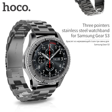 HOCO Classic Stainless Steel Wrist Strap For Samsung Galaxy Gear S3 Frontier Band For Samsung Gear S3 Classic Watchband S3 Strap
