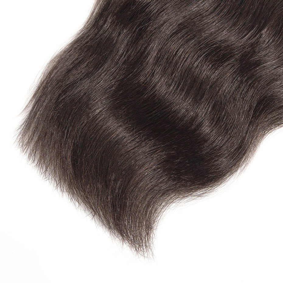 Raw Indian Mink Virgin Hair Bundles Natural Straight Surfing Wave Natural Color Human Hair Extension 1PC Free Shipping