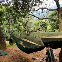 Outdoor Camping Parachute Hammocks Mosquito Net Hamac Can Be Used Camping Survival Travel Hiking Trekking Sleeping