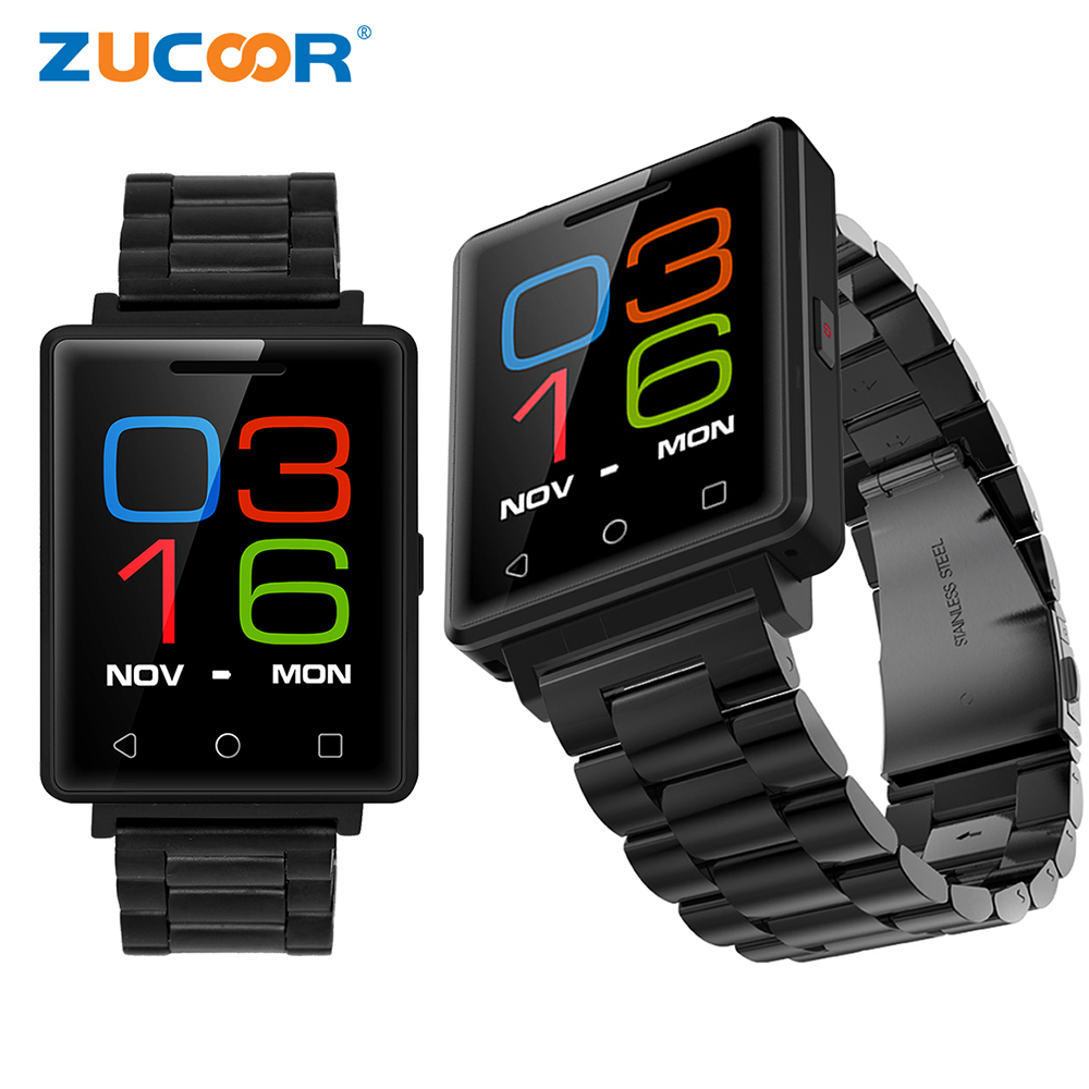 Smart Watch Bluetooth Heart Rate Monitor ZW80 Fitness Tracker Support SIM SD Card Reloj Pedometer Wristwatch For iOS Android Men