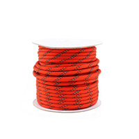 20M 5mm Reflective Cord Guy Rope Clothesline For Home Camping Awning Tent Red