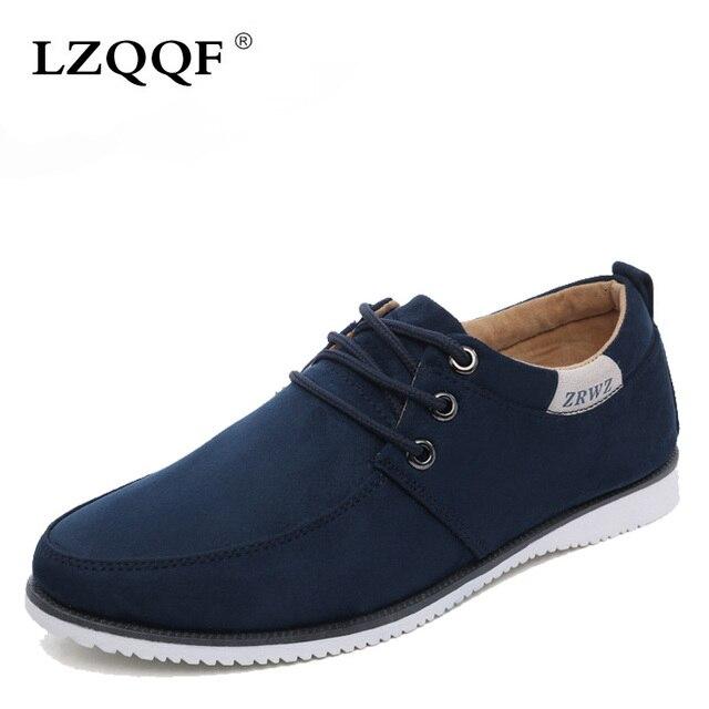 Мужская Обувь 2016 Новый Замши Плоским мужская Мода Повседневная Обувь Твердые Мужской Обуви Для Мужчин Zapatos Hombre EPP077