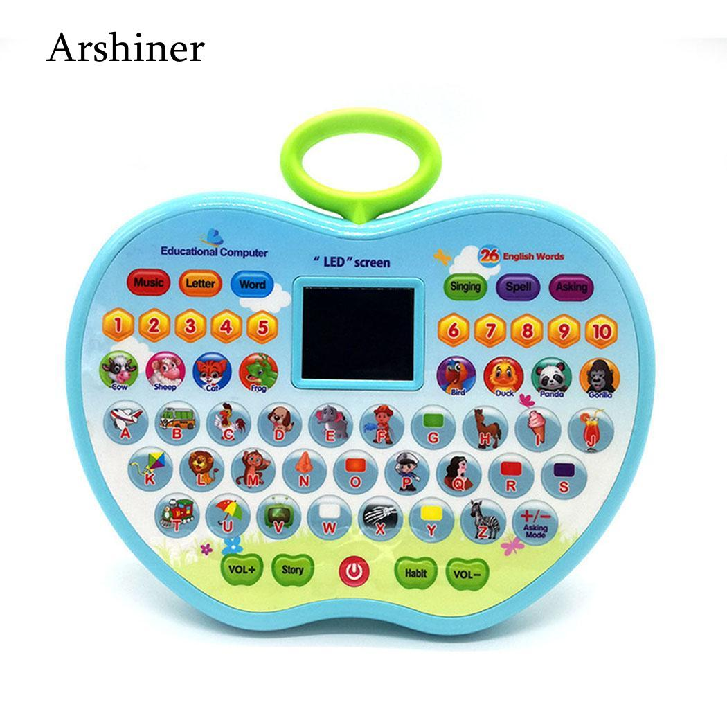 Educational-Toys Learning-Machine Chinese Kids Children's Music-And-Light Engish