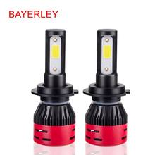 H4 LED H7 H11 H8 HB4 H1 H3 HB3 H9 9005 9006 Auto mini Car Headlight Bulbs 72W 8000LM Car Styling 6500K led automotivo(China)