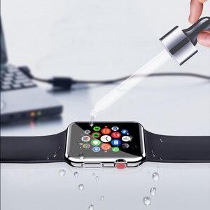 Image 4 - Suntaiho 10D Volle Abdeckung Schutz film Für Apple Uhr Screen Protector 40 44mm für ich Uhr 4 film Serie 1/2/3/4 nicht glas film