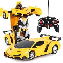 Technic Transformation RC Car Remote Control Car