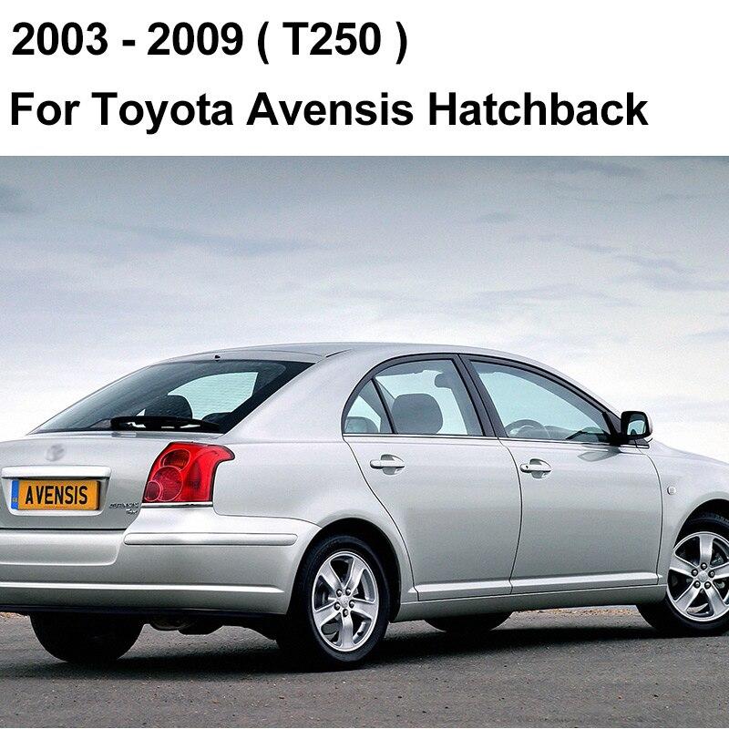 REFRESH Щетки стеклоочистителя для Toyota Avensis T250 / T270 / Verso Mk2 Mk3 Подходит для крепления крюка / кнопочных ручек Долговечная резина - Цвет: 2003 - 2009 (Hatch)