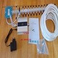 3g repetidor de señal juego completo! Amplificador de Señal de teléfono celular 3G, wcdma 2100 mhz 3G Amplificador de señal con 18DBI 3g antena yagi
