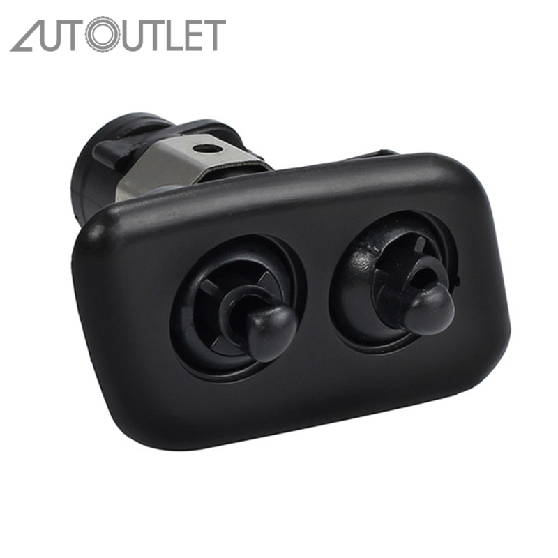 AUTOUTLET 61678360662 Right Headlight Washer Nozzles For BMW E39 525i 525iT 528i 528iT 530i 540i 540iT M5 Washer Nozzles