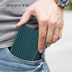 Image 5 - Modern   Ripstop Fabric Bifold Men Wallet Super Slim Card Holder Machine Washable Durable and Waterproof Designer wallets famous