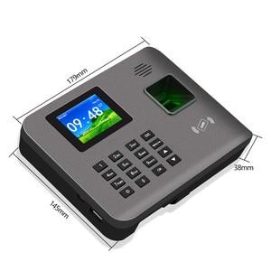 Image 5 - 2.4 אינץ RFID TCP/IP/USB טביעות אצבע ביומטרי זמן נוכחות מכונה טביעות אצבע זמן שעון מקליט הכרה עובד