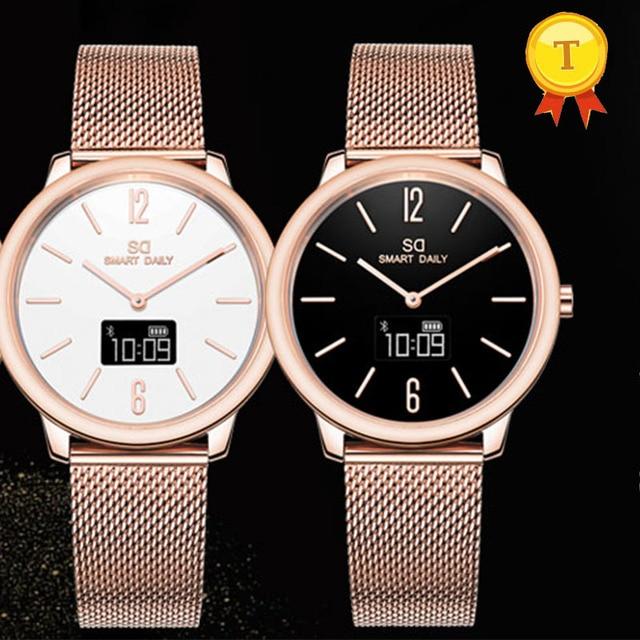 Luxury Stainless Steel Bluetooth Smart Watch 1