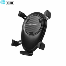 DCAE Qi Wireless Car Charger for iPhone X 8 Plus Fast Charging Car Wireless Charger for Samsung S9 S8 Gravity Air Mount Holder
