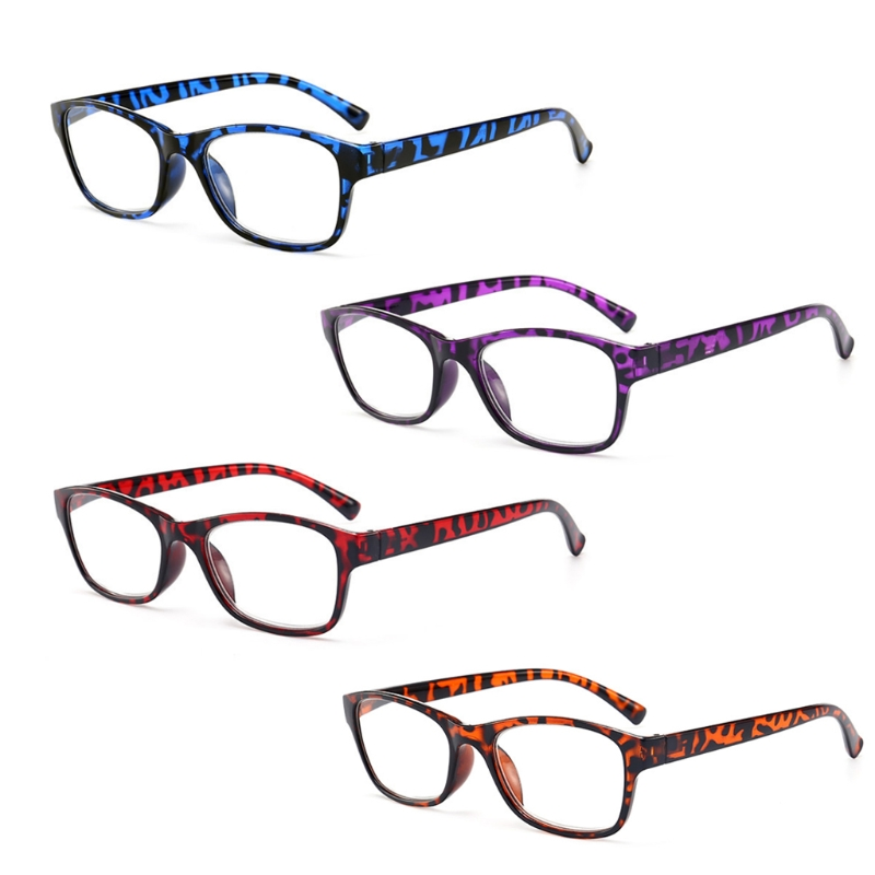 b5f03efa95d New Leopard Anti Fatigue Reading Glasses Presbyopia 1.0 to 4.0 Diopter  Ultra Clear W715-in Reading Glasses from Apparel Accessories on  Aliexpress.com ...
