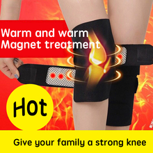 Self-heating Warm Knee pads  magnet magnetic therapy comfortable breathable knee protector and support a piece