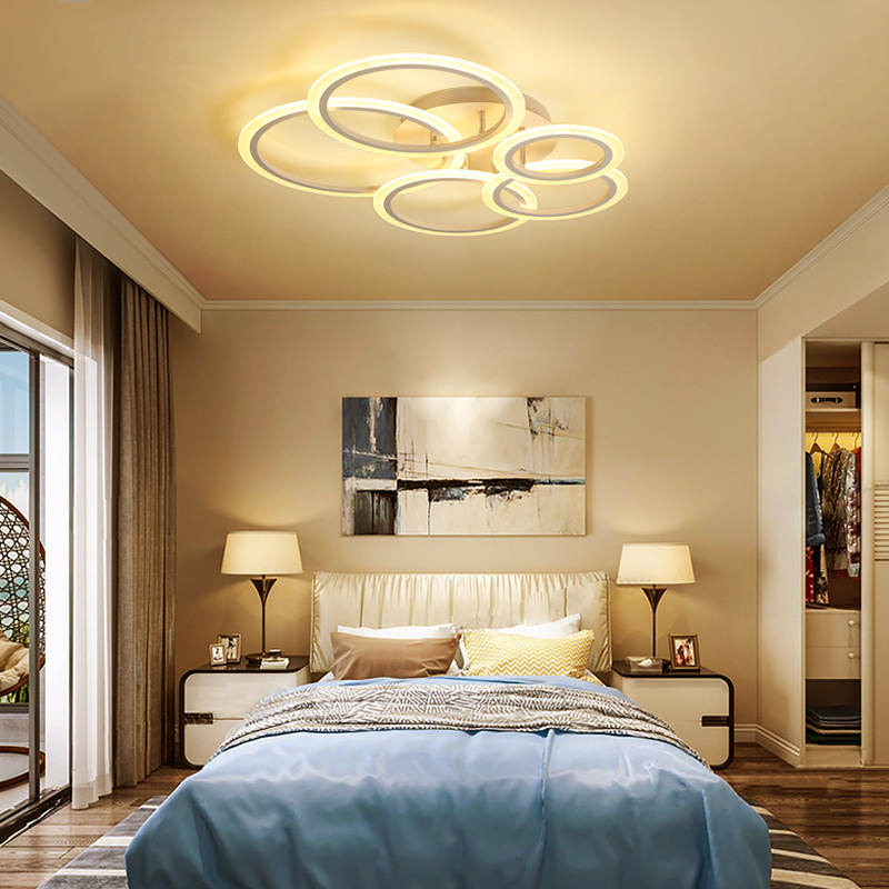 Modern fashion plafonnier led ceiling light indoor lighting ceiling mounted surface mult ...