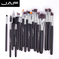 JAF JE20SSY B 20pcs Makeup Brush Set Face Eye Shadow Foundation Blush Blending Cosmetics Tool Synthetic