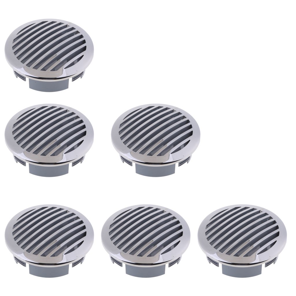 6 Pieces 4 RV Marine Boat Marine Grade 316 Stainless Steel Air Flow Vent 81933SS HP