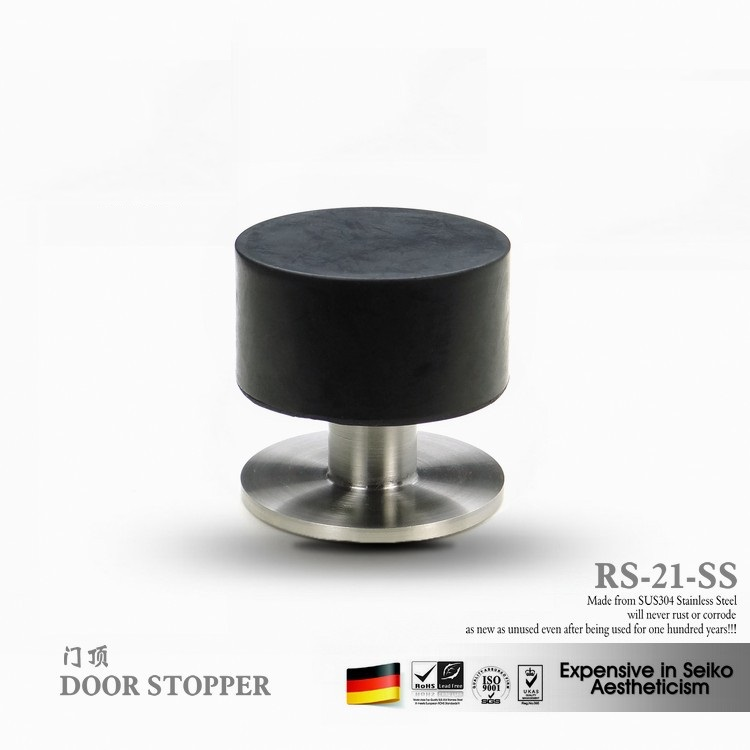 Aliexpress.com : Buy VIBORG SUS304 Stainless Steel Casting + Rubber Floor  Mounted Wall Mounted Door Stopper Door Stops Doorstops, RS 21 From Reliable  ...