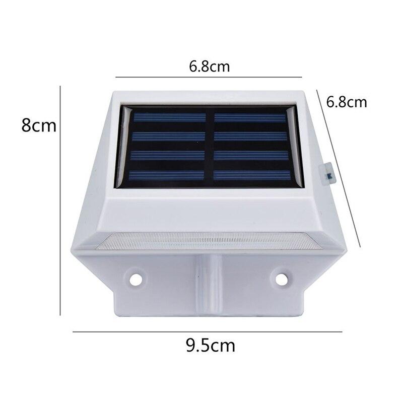 Lâmpadas de Parede ao ar Livre oobest 4 led super brilhante Solar Panels : Polysilicon2v100mah