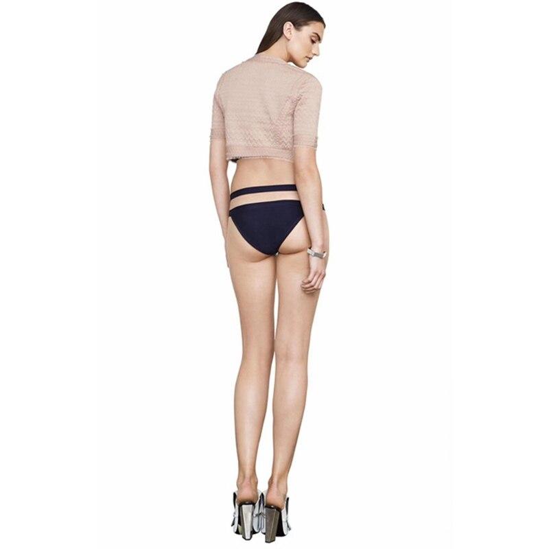 Manches 2019 Clubwear Gros Rose Bandage Solide Style Court Taille Veste Haute En Mode Manteau Verano Courtes Femmes Mesh Balck dBCWxoeQr