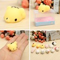 6pcs/set Mochi Chicken Tiger Bunny Bear Pig Lovely Squeeze Cute Healing Toy Collection Gift Decor Novelty Toys For Children