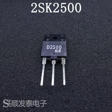 10pcs/lot 2SK2500 TO3P K2500 TO-247 Transistor 10pcs lot l7812cv l7812 l7812v tube regulator 7812 transistor new