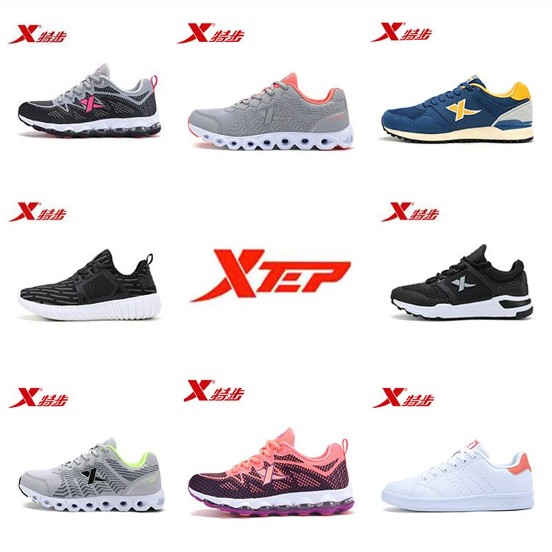 Xtep 2018 Clearance Air Sole Winter and Autumn athletic shoe Man Women Running shoes Sport Sneakers for man women