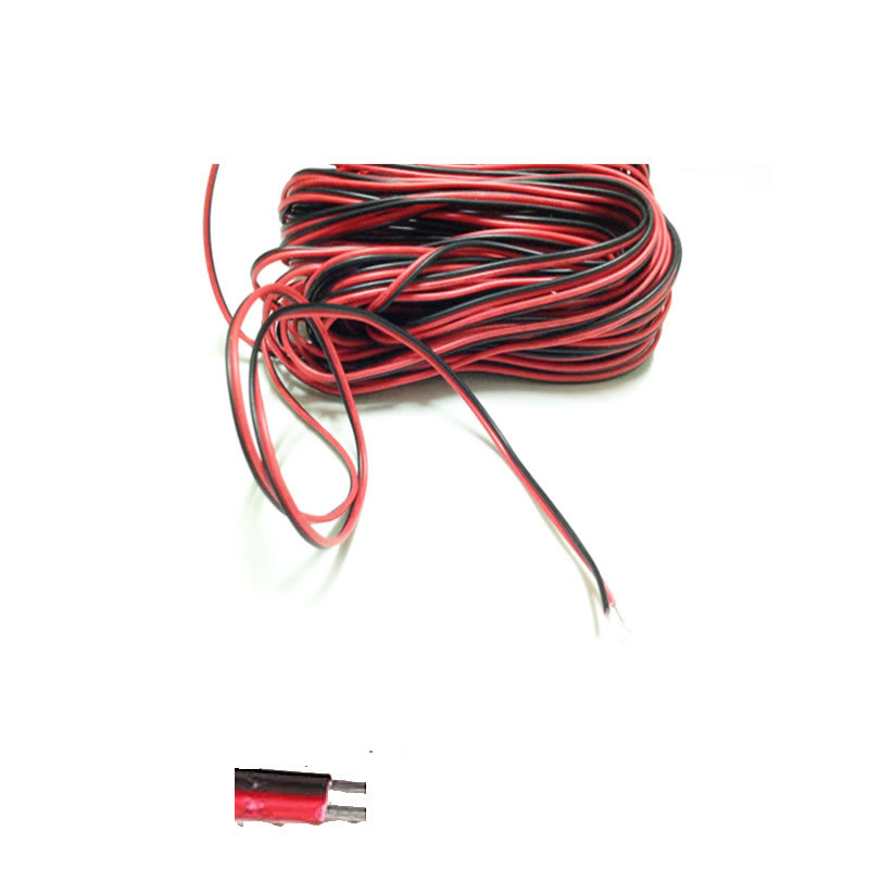 1m 2m 3m 4m 5m 10m 20m 50m 100m <font><b>2</b></font> <font><b>Pin</b></font> <font><b>LED</b></font> cable for 5050 5630 3528 single color <font><b>Strip</b></font> Extension Extend Wire Cord <font><b>Connector</b></font> image