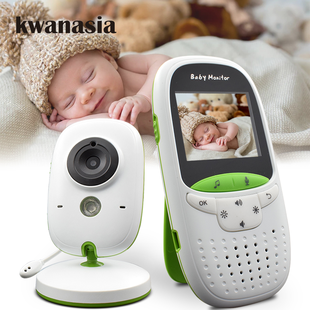 2 inch Wireless Baby Monitor VB602 Audio Video Baba Electronic Portable Intercom Camera Babyfoon Nanny Walkie