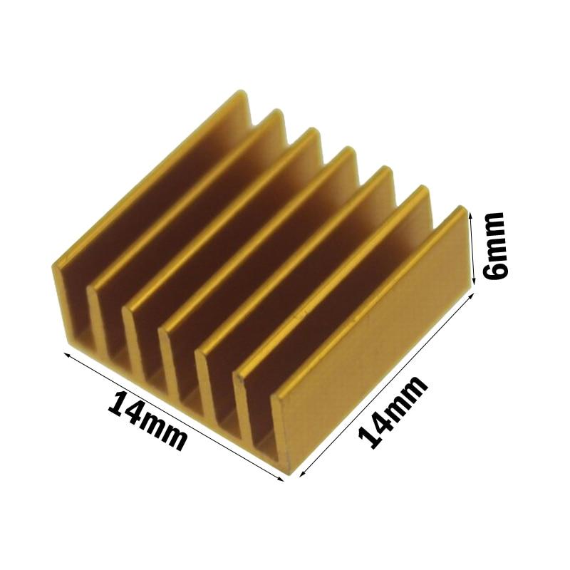 RAM VGA Memory IC Chipset Cooler Cooper Heatsink 14mm  x 11mm