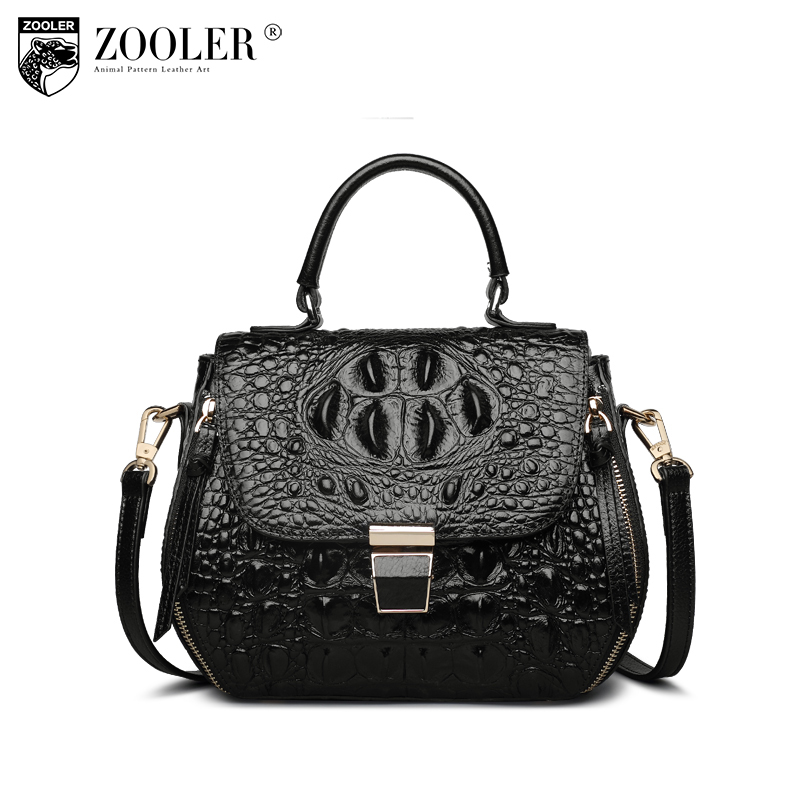 ZOOLER Genuine leather Bag cross body bags for women designer handbag high quality Women shoulder bags mochilas mujer 2018-X102 2018 new hot item high quality women handbag genuine leather bags women messenger bag vintage women bag shoulder cross body bags