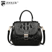 ZOOLER Genuine leather Bag cross body bags for women designer handbag high quality Women shoulder bags mochilas mujer 2018 X102