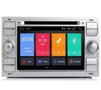 Car Multimedia Player GPS Android 9.1 2 Din For Ford/Mondeo/Focus/Transit/C MAX Car Radio Bluetooth DVR Autoradio DSP