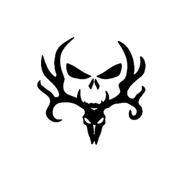 12 7 12 6cm Deer Hunt Car Styling Vinyl Decal Hunting Punisher Cool