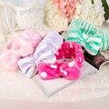 Mulheres Coral Fleece Máscara Cosméticos Faixas de Cabelo Grande Arco Que Cobre Microfibra Ostenta a Toalha Faixas de Cabelo Headband Headwear Atacado