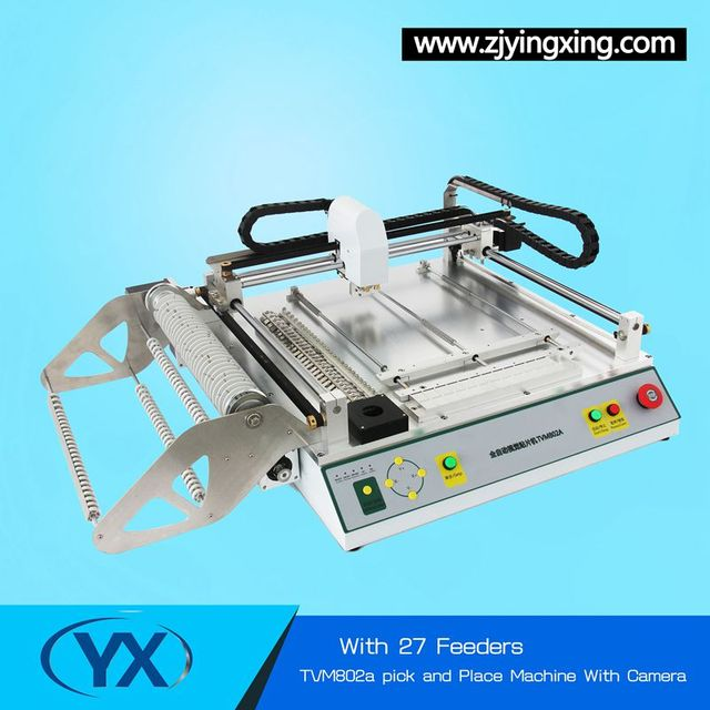 Brilliant Product  With Camera Pcb Manufacturing Equipment Desktop SMD Pick and Place Machine