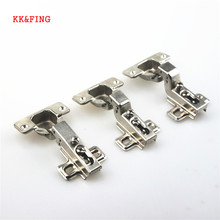 KK&FING Hinge Rustless Iron Hinges Kitchen Cabinet Cupboard Full/Half/Embed Furniture Hardware calipso 302 08 fx 01 kk