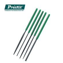 8PK-605A Pro'skit Portable 5pcs Needle File Set Precision Rasp Group Upscale For Metal Glass Stone Jewelry Wood Carving Craft цены