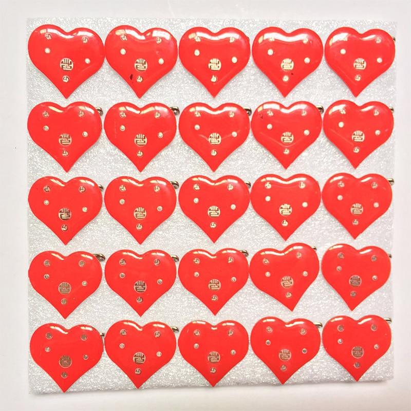 300 pcs หัวใจสีแดงของเข็มกลัด Pins ป้าย Led กระพริบเข็มกลัด Party ไฟเด็กตกแต่งของเล่นราคาถูก-ใน ของขวัญงานปาร์ตี้ จาก บ้านและสวน บน AliExpress - 11.11_สิบเอ็ด สิบเอ็ดวันคนโสด 1