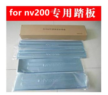Stainless Steel car Scuff Plate/Door Sill Door Sill Car Styling for Nissan NV200