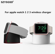 Wireless Charger For Apple Watch Magnetic Wireless Charging Pad For Apple Watch 2 3 Compatible 38mm & 42mm For Apple Watch1 2 3
