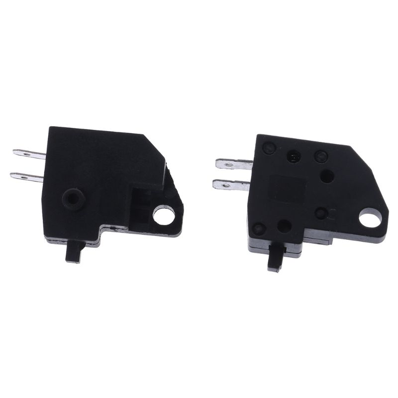 2PCS Universal Motorcycle Scooter Front Left Lever Brake Stop Light Switch EC