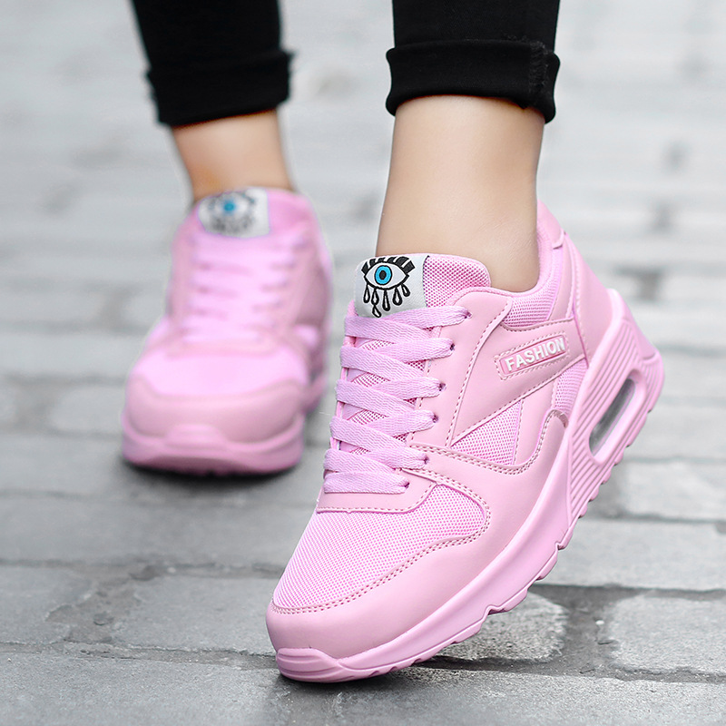 Women sneakers shoes Designer pu leather spring casual shoes outdoor walking shoes woman flats Lace Up  women tenis feminino glowing sneakers usb charging shoes lights up colorful led kids luminous sneakers glowing sneakers black led shoes for boys