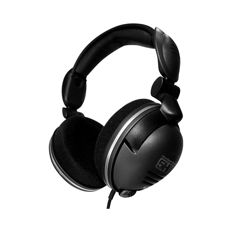 Headphones SteelSeries 5H v2 USB 1more super bass headphones black and red