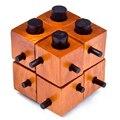 Игра-головоломка Монтессори Образовательных Magic Box Из 8 частей Для Взрослых И Детей Деревянные Игрушки Конг Мин Блокировка