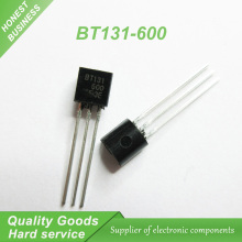 50pcs free shipping BT131-600 BT131 TO-92 Triacs 600V 1A new original bc546c to 92