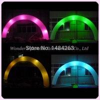 Enorme Atractivo Misterioso Iluminación Decoración de La Boda Arco Inflable Con Led Para La Venta