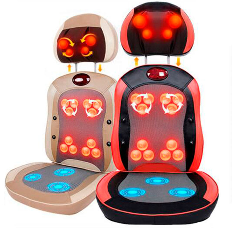 Multifunctional Cervical Vertebra Massage Device Full-body Massage Cushion Neck Massage Chair Mat healthcare gynecological multifunction treat for cervical erosion private health women laser device