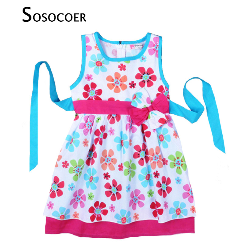 71d4749a6fca SOSOCOER Baby Girl Clothes 2018 Summer Girls Clothing Set Lovely ...